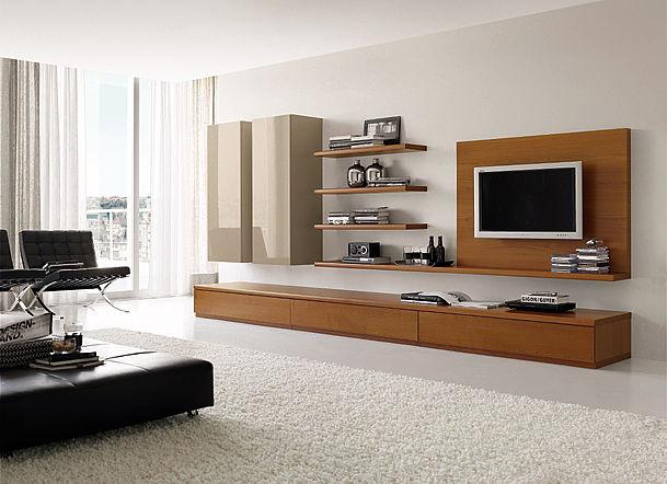 Συνθέση τοίχου σαλονιού Oikia kantis Basic Style-Basic Style