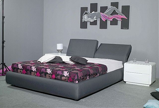 Κρεβάτι επενδυμένο Sofa di Rodi  Linea-Linea