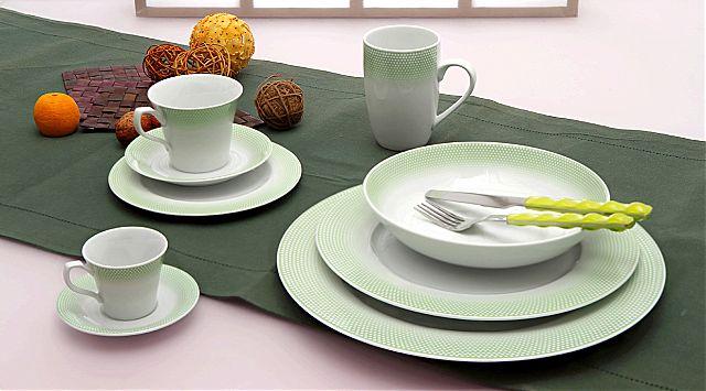 Σερβίτσιο πιάτων-φαγητού Cryspo Trio Bonito-Bonito Green