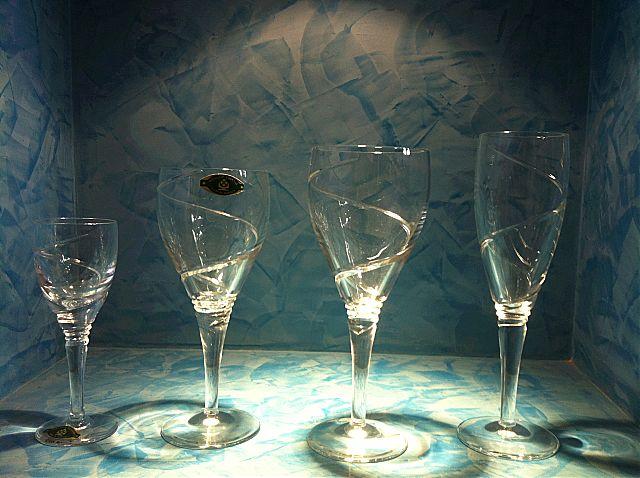 Σερβίτσιο ποτηριών Slovglass as Poltar 2723-554/2723