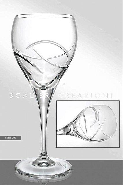 Σερβίτσιο ποτηριών Scalieri Creazioni  Fiona-T206
