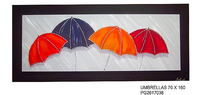Πίνακας ζωγραφικής Gallerista by Repanis Umbrellas-Umbrellas