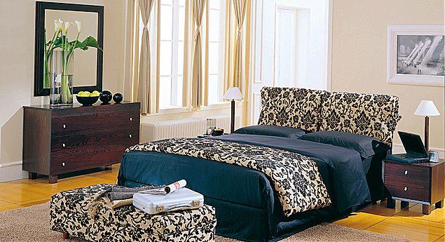 Κρεβάτι επενδυμένο Oikia kantis Irida-Irida