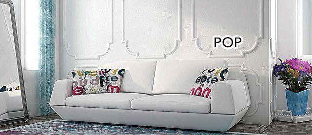 Καναπές Oikia kantis Pop-Pop