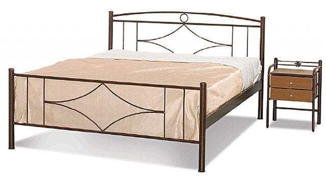 Κρεβάτι μεταλλικό Sofa And Style Νο 17-Νο 17