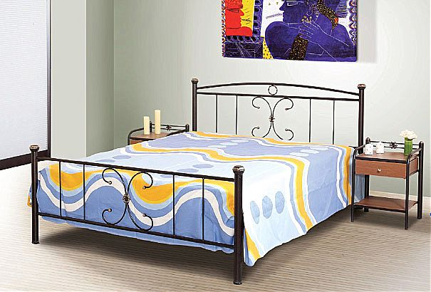 Κρεβάτι μεταλλικό Sofa And Style Νο 24-Νο 24