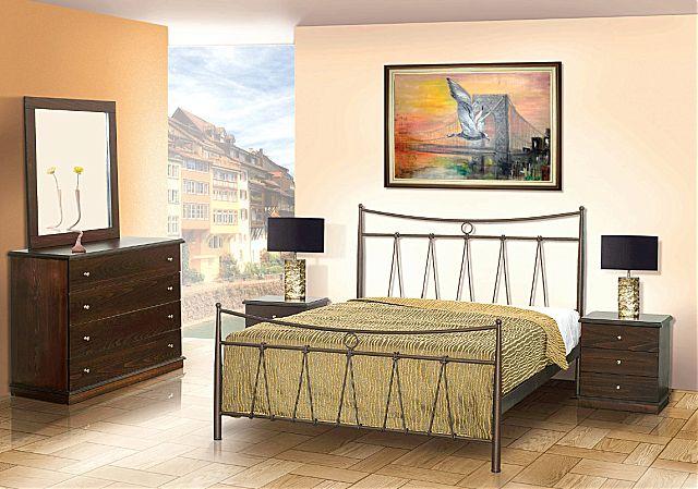 Κρεβάτι μεταλλικό Sofa And Style Νο 31-Νο 31