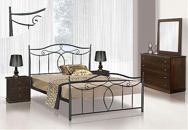 Κρεβάτι μεταλλικό Sofa And Style No 53-No 53