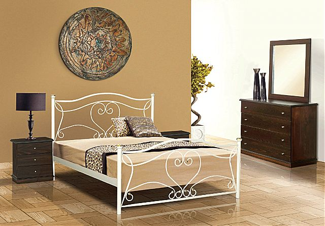 Κρεβάτι μεταλλικό Sofa And Style No 56-No 56