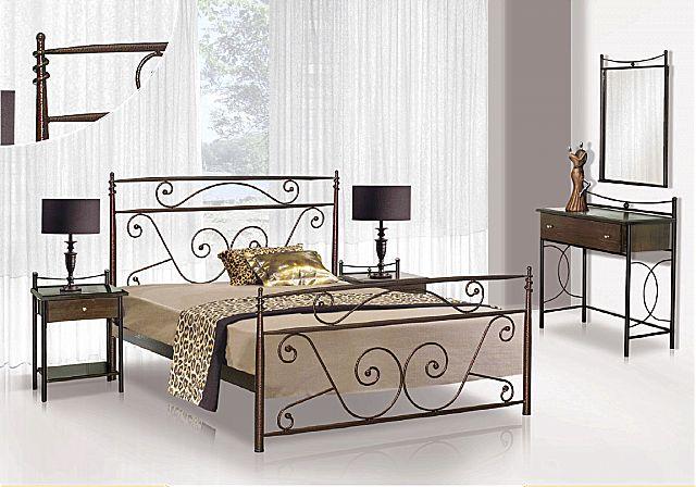 Κρεβάτι μεταλλικό Sofa And Style No 59-No 59