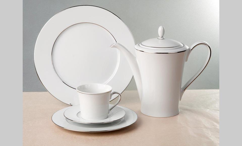 Σερβίτσιο πιάτων-φαγητού Cryspo Trio Suzana-Suzana-Platin