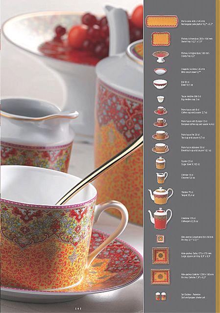 Σερβίτσιο πιάτων-φαγητού Phillipe Deshoulieres Dhara-Dhara