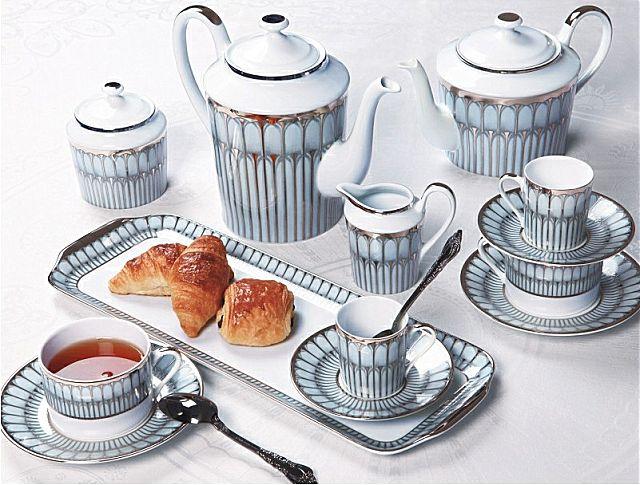 Σερβίτσιο πιάτων-φαγητού Phillipe Deshoulieres Arcades Gris-Arcades Gris