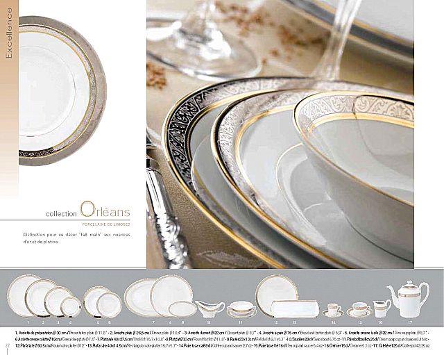 Σερβίτσιο πιάτων-φαγητού Deshoulieres Orléans-Orléans