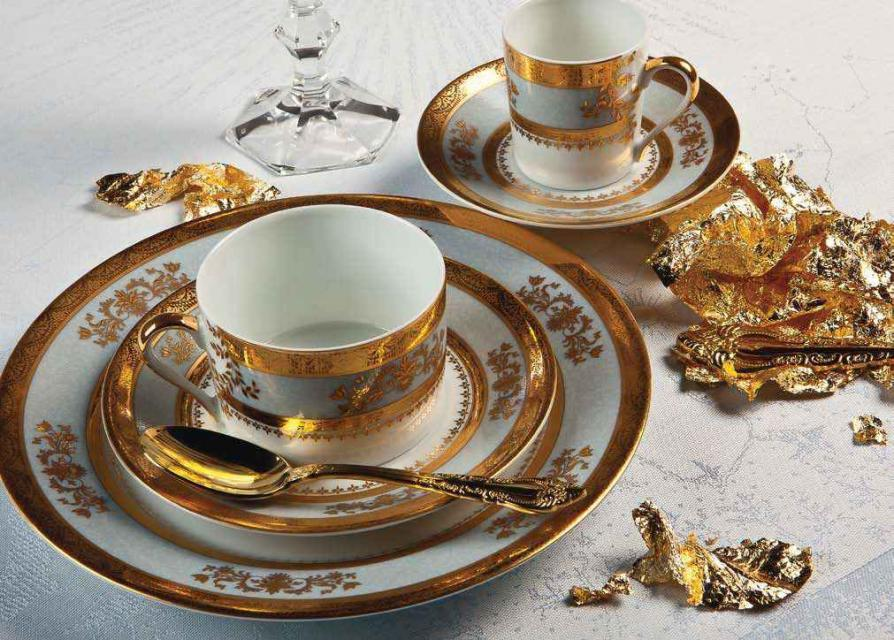 Σερβίτσιο πιάτων-φαγητού Deshoulieres Orsay-Orsay