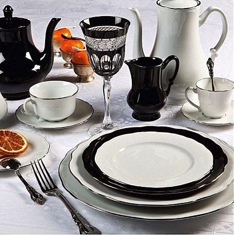 Σερβίτσιο πιάτων-φαγητού Phillipe Deshoulieres Colbert Platine-Colbert Platine