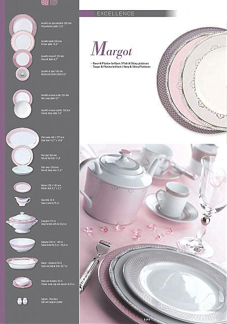 Σερβίτσιο πιάτων-φαγητού Phillipe Deshoulieres Margot-Margot