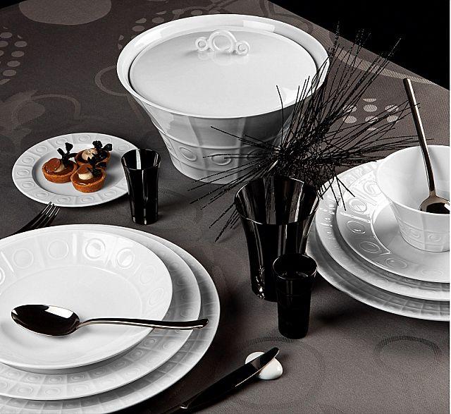 Σερβίτσιο πιάτων-φαγητού Phillipe Deshoulieres Osmose-Osmose