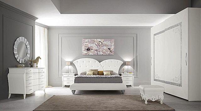 Κρεβάτι επενδυμένο Spar Arreda Prestige notte-Florence swarovski