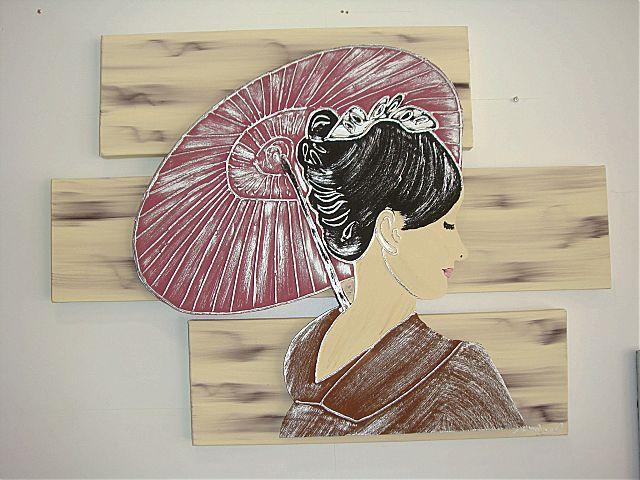 Πίνακας ζωγραφικής Gallerista by Repanis Geisha-Geisha