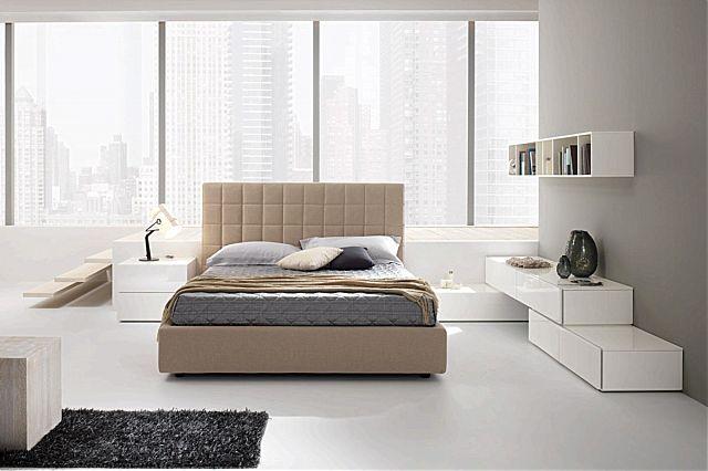 Κρεβάτι επενδυμένο Spar Arreda Pacifico-Scacco