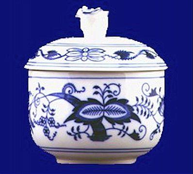 Ζαχαριέρα Zweibel Muster Blue Onion-CB038