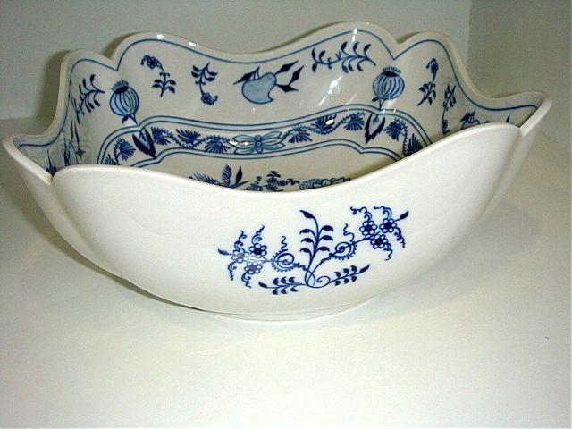 Σαλατιέρα-Μπολ για σαλάτα Zweibel Muster Blue Onion-CB060
