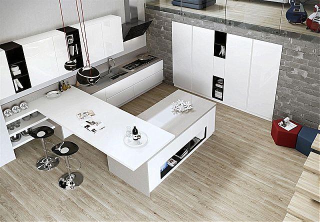 Κουζίνα μοντέρνα Arredo3 Young-Young Underground