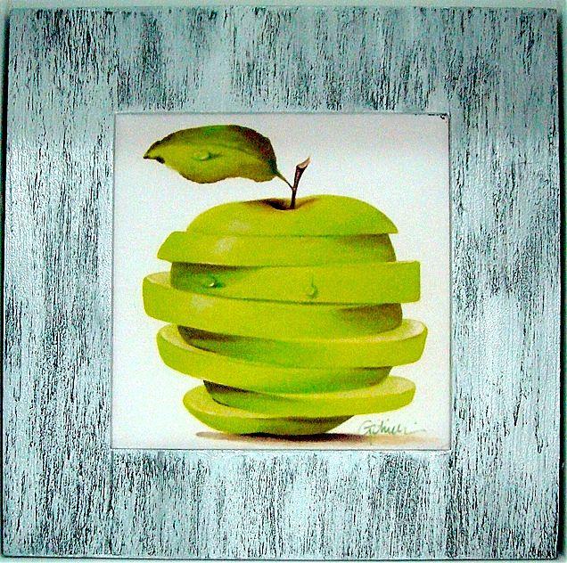 Πίνακας ζωγραφικής Gallerista by Repanis Green Apple Cut-IG7164K