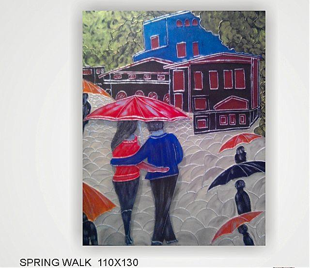 Πίνακας ζωγραφικής Gallerista by Repanis Spring Walk-Spring Walk