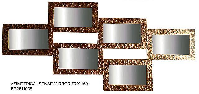 Καθρέφτης Gallerista by Repanis Asimetrical -Asimetrical Sense Mirror