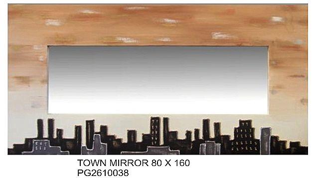 Καθρέφτης Gallerista by Repanis Town Mirror-Town Mirror