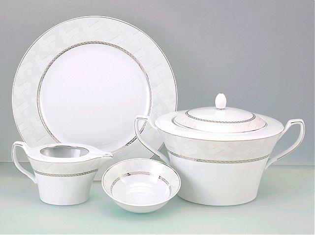 Σερβίτσιο πιάτων-φαγητού Cryspo Trio Adore-Adore