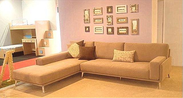 Καναπές γωνιακός Sofa And Style Cappucino-Cappucino