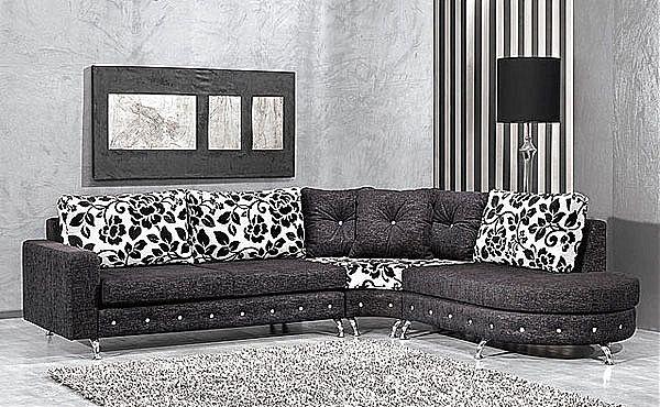 Καναπές γωνιακός Sofa di Rodi  Porto Swarovski-Porto Swarovski