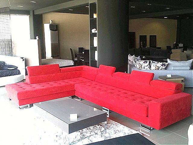 Καναπές γωνιακός Sofa di Rodi  Rome-Rome