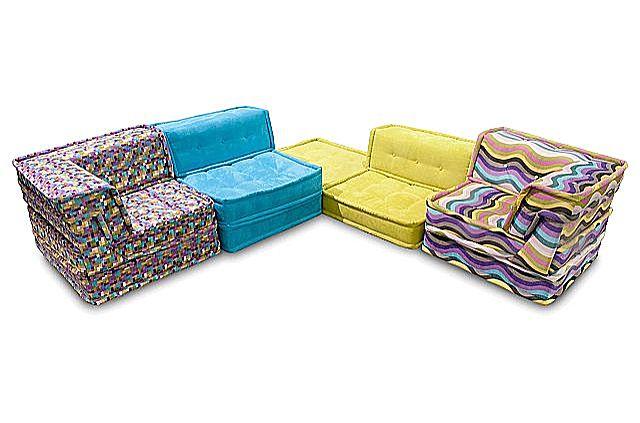 Καναπές γωνιακός Oikia kantis Pillow-Pillow