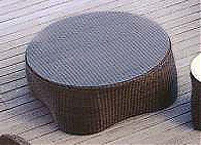 Τραπεζάκι κήπου Roberti Rattan Coconut-Coconut