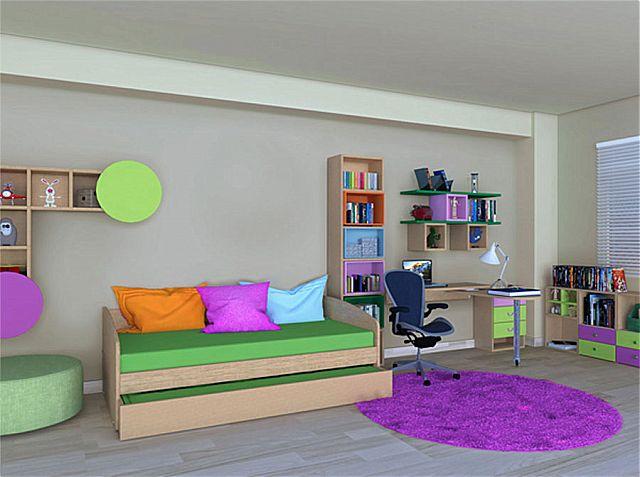 Παιδικό-Εφηβικό δωμάτιο alfaset Relax sofa bed-Relax sofa bed 1