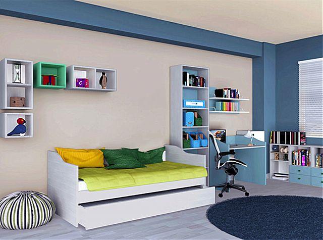 Παιδικό-Εφηβικό δωμάτιο alfaset Tetra Sofa Bed-Tetra Sofa Bed