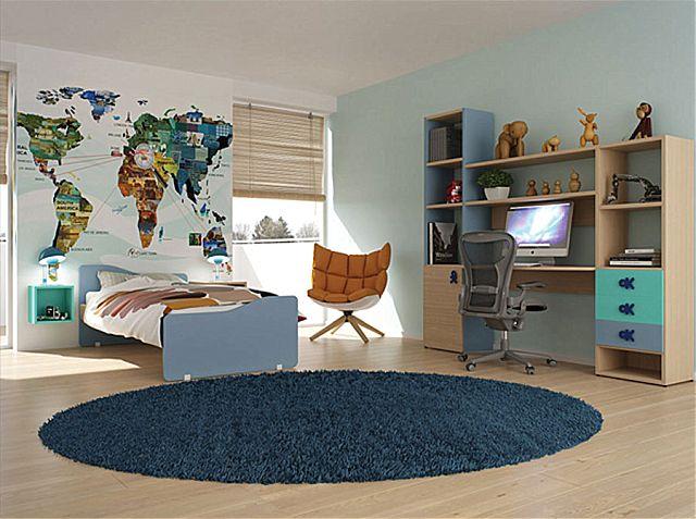 Παιδικό-Εφηβικό δωμάτιο alfaset Tetra -Tetra 2
