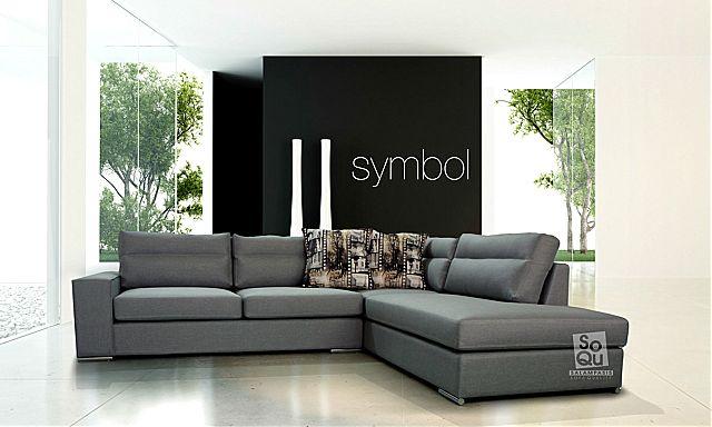 Καναπές γωνιακός Sofa And Style Symbol-Symbol