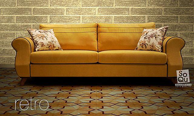 Σαλόνι Sofa And Style Retro-Retro