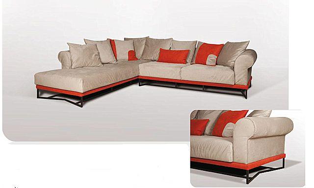 Καναπές γωνιακός Sofa And Style Picasso-Picasso