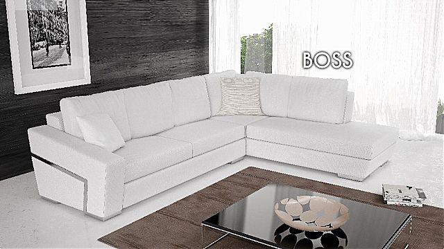Καναπές γωνιακός Oikia kantis Boss-Boss