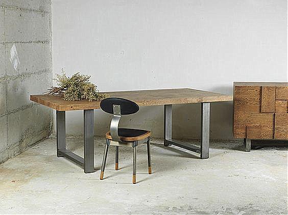 Τραπέζι τραπεζαρίας Sofa And Style Vintage-Vintage