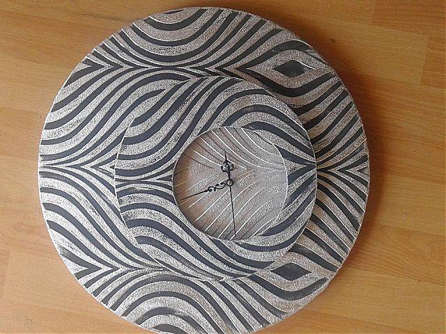 Ρολόι τοίχου Gallerista by Repanis Zebra-Zebra