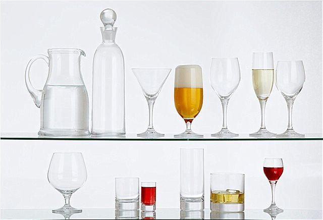 Σερβίτσιο ποτηριών εργοστασίου SP Tableware