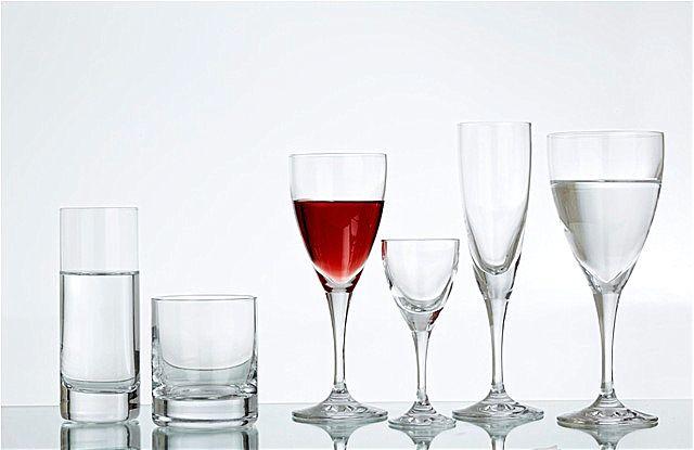 Σερβίτσιο ποτηριών SP Tableware Aura-Carla