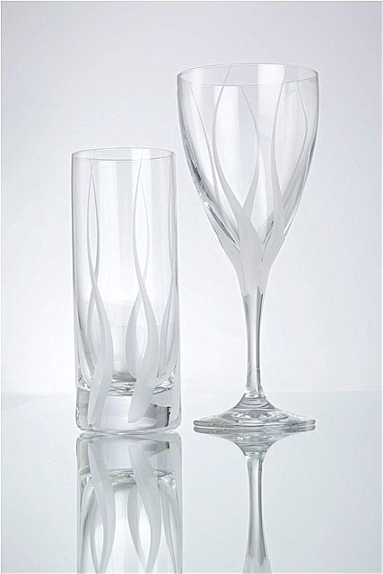 Σερβίτσιο ποτηριών SP Tableware Aura-Earth